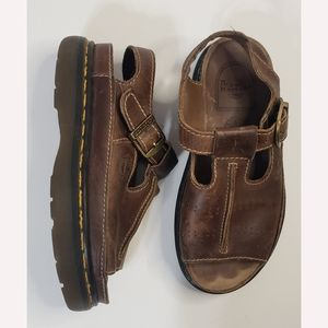 Dr Marten's Women's Vintage Single Buckle Leather Sandal